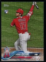 2018 Topps Update SSP #US1 Shohei Ohtani 5x7 RC Rookie Batting Image #d 20/49
