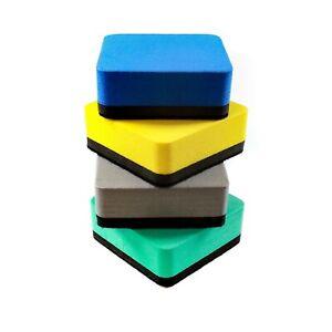 Magnetic Whiteboard Eraser + Dry Wipe Marker Pen Sets - Dry Erase Rubber Wiper