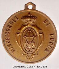 """Misericordia di Lucca IV° Congresso Nazionale 1951 medaglia """"3878"""""""