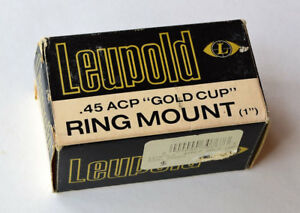 Leupold 45 ACP Gold Cup Ring Mount #30767