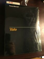 C-2 NEW YALE ERC 050-065 RF / ZF # 1585 11/94 FORK TRUCK LIFT PARTS MANUAL
