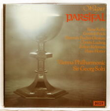 SET 550/4 - GEORG SOLTI - WAGNER Parsifal DECCA 5xLPs box NM