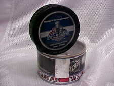 2006 NHL Stanley Cup Final Game Three Puck Carolina Hurricanes v Edmonton Oilers