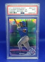 Vladimir Guerrero Jr 2017 Bowman Draft Chrome Batting Refractor #BDC150 PSA 9 RC