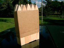 """(10) ten Primitive Wood Yard Stakes many uses 12"""" by 1.5"""" by 1"""" good 4 garden"""