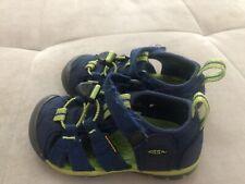Keen Boys Shoes Sandals Waterproof Size 8 Blue