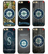 Seattle Mariners  Hard Phone Case Cover For iPhone / Touch / Samsung / LG