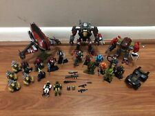 Mega Bloks Halo Large Lot Covenant UNSC Mega Construx