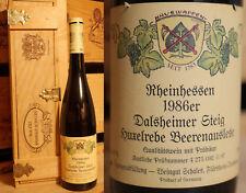 1986er Dalsheimer Steig - Huxelrebe - Beerenauslese - WG Schales - Rheinhessen