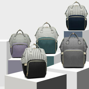 Rucksack Changing Bag Nappy Diaper Wipe Clean Maternity Backpack Mummy Hospital