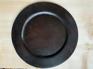 """Roycroft Arts and Crafts 10"""" Copper Plate"""