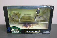 Tatooine Skiff w Luke Skywalker STAR WARS 1999 POTF Power of the Force MIB #2