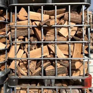 Leuendorff Kaminholz Brennholz Feuerholz Eiche, 1 x Gitterbox, 1,2 SRM, 30 cm