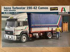 +++ Italeri 1:24 IVECO Turbostar 190.42 Canvas Truck 3939