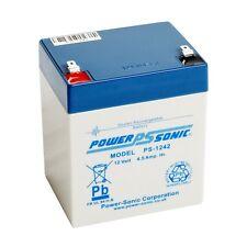 Jeron Electronic Systems EC-610 12V 4.5Ah Batería médico enfermera llamada Powersonic