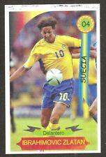 Zlatan Ibrahimovic 2006 Reyauca Venezuela World Cup CARD #04 RRR RARE
