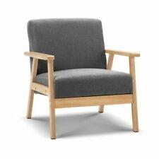 Artiss Fabric Armchair - Grey (UPHO-C-SOFA-8033-NEW-GY)