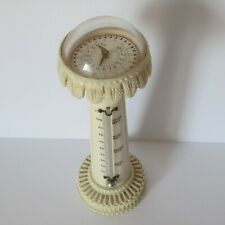 Viktorianisches Thermometer Sonnenuhr aus Bein im indischen Stil um 1850 - 2886