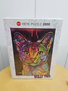 Heye Puzzle 7 Colour Cat 2000 Pieces 29810 Renoir Educational Toy New