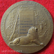 MED2131 - MEDAILLE CONCOURS 1924 S.A.G. LA MILICE  - MEDAL
