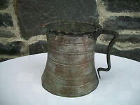 Antique Persian Decorative Copper Pitcher Watering Vessel 1800's, Amazing!