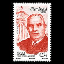 SPM 2014 - Albert Briand, 1909-1966 Politician - MNH
