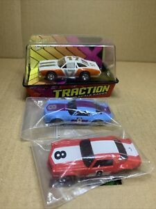 Johnny Lightning Xtraction 73 Chevelle #17 AFX Slot Car With 2 Extra Bodies 2-57