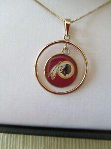 Washington Redskins 14kt gold necklace - NFL - New never worn 18 inch