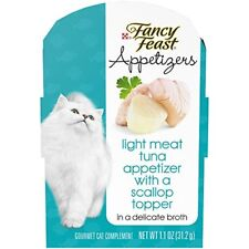 Purina Fancy Feast Appetizers Light Meat Tuna With A Scallop Topper Adult Wet