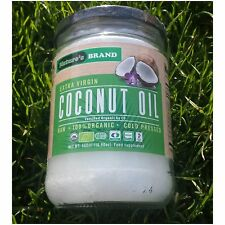 100% Organic Raw Pure Extra Virgin Coconut Oil Finest Grade 500ml Cold Pressed