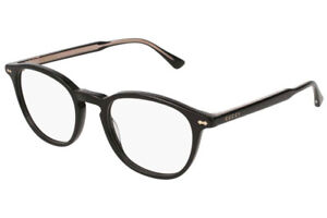 Gucci spectacle glasses frame GG0187O black 005 with Gucci case, pouch & cloth