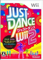 JUST DANCE Wii 2 Japan Free Shipping with Tracking number New from Japan