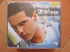 """CD singolo Paolo Meneguzzi """"Verofalso"""" usato ma in ottime condizion"""