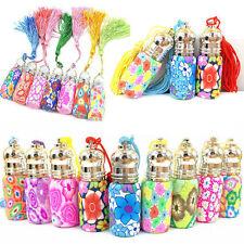 6ml Random Color Empty Glass Perfume Essential Oil Bottle Roll On Roller Hot