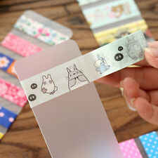 2 pcs Portable Washi Tape Sampler Dispenser Clear Adhesive Tape Sampler Board