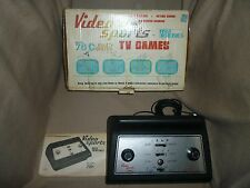 First Dimension Video System Console in Original Box w/4 Built in Games Tested!