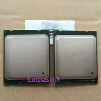 PAIR of Intel XEON E5-2650 2Ghz 8 Core Processor C2 SR0KQ Socket 2011 95W CPU