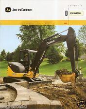 Equipment Brochure - John Deere - 60D - Excavator - 2010 (E1639)