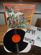 "VV.AA SONIC YOUTH  ""MELTING PLOT"" LP SST USA 1988 - INSERT"