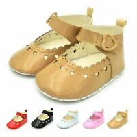 Newborn Flats Prewalker Crib Kids Girl Children Shoes Baby Toddler Hollow