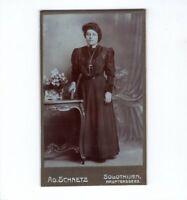 CDV Foto Feine Dame - Solothurn 1900er
