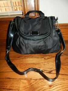 Large Black Nylon KATE SPADE Diaper Shoulder Bag!