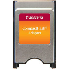 Transcend  PCMCIA Compact Flash CF Card Adapter
