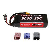 Venom 35C 3S 3 Cell 5000mAh 11.1V RC LiPo Battery with Deans EC3 Traxxas Plug