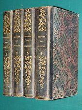 Histoire des Français T. LAVALLÉE 4 Vol. ed. PAULIN HETZEL 1838