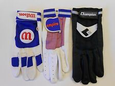 3 Vtg '80's Wilson Champion, Etc. ADULT Batting Gloves 2 X-LARGE 1 LARGE (Left)