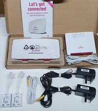 More details for sagemcom plusnet one hub & 2704n wireless wifi router modem + loads more bits
