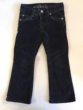Levi 5 Black Velvet Pants Jeans Girls Adjustable