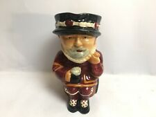 More details for toby jug character jug beefeater shorter and sons staffordshire england