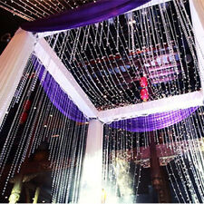 200LED String Curtain Fairy Light  Solar Powered Wedding Party Garden Decor